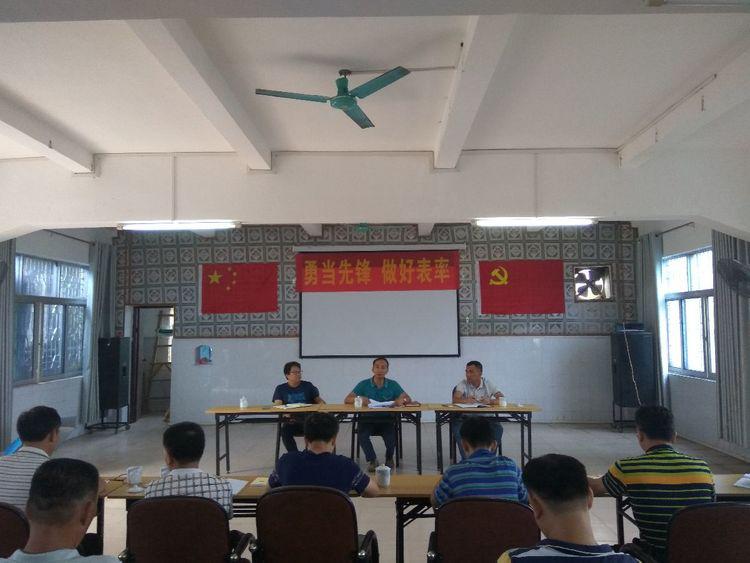 五指山水务有限公司党委召开专题活动动员部署会