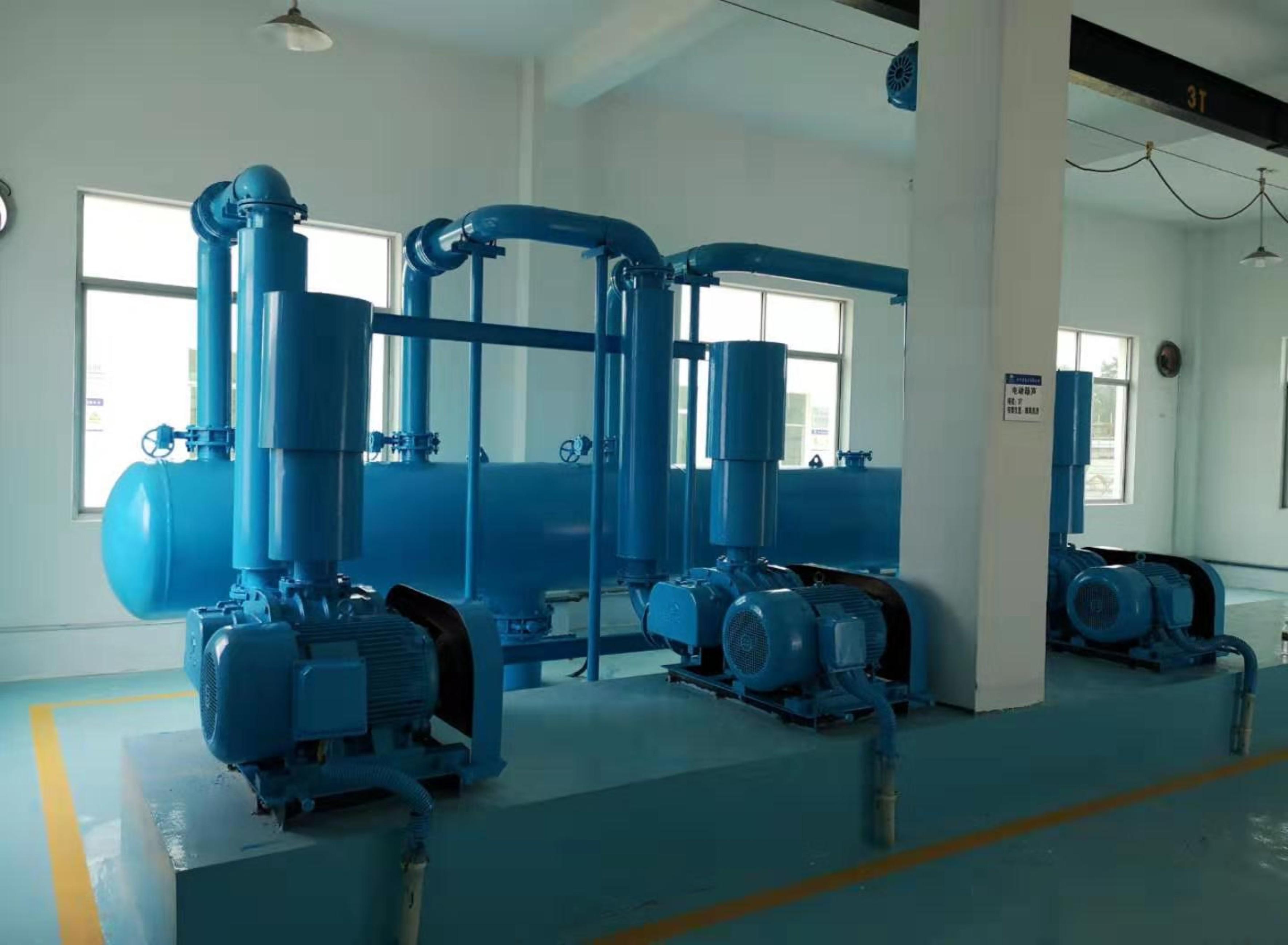 污水廠現場標準化建設